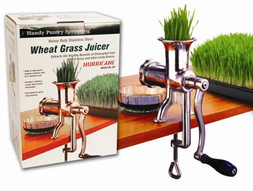 Handy Pantry HJ Hurricane Wheatgrass Juicer